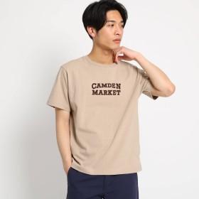 THE SHOP TK(Men)(ザ ショップ ティーケー:メンズ)/ロゴプリント半袖Tシャツ