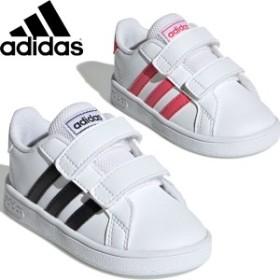 ◆◆ <アディダス> 【adidas】19FW ジュニア キッズ グランドコート I 子供靴 運動靴 スニーカー カジュアル シューズ EF0115 EF0118