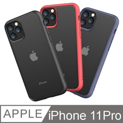 iphone 11 PRO 5.8吋PC+TPU透明背板防摔手機殼 軟殼【送鏡頭貼】