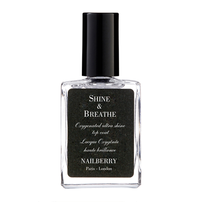 Nailberry 12 Free Breathable Luxury Nail Polish Shine and Breathe 15ml