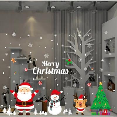 時尚壁貼-聖誕萬歲(靜電貼)AMJ034