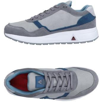 《セール開催中》ASFVLT メンズ スニーカー&テニスシューズ(ローカット) グレー 43 紡績繊維 / 革