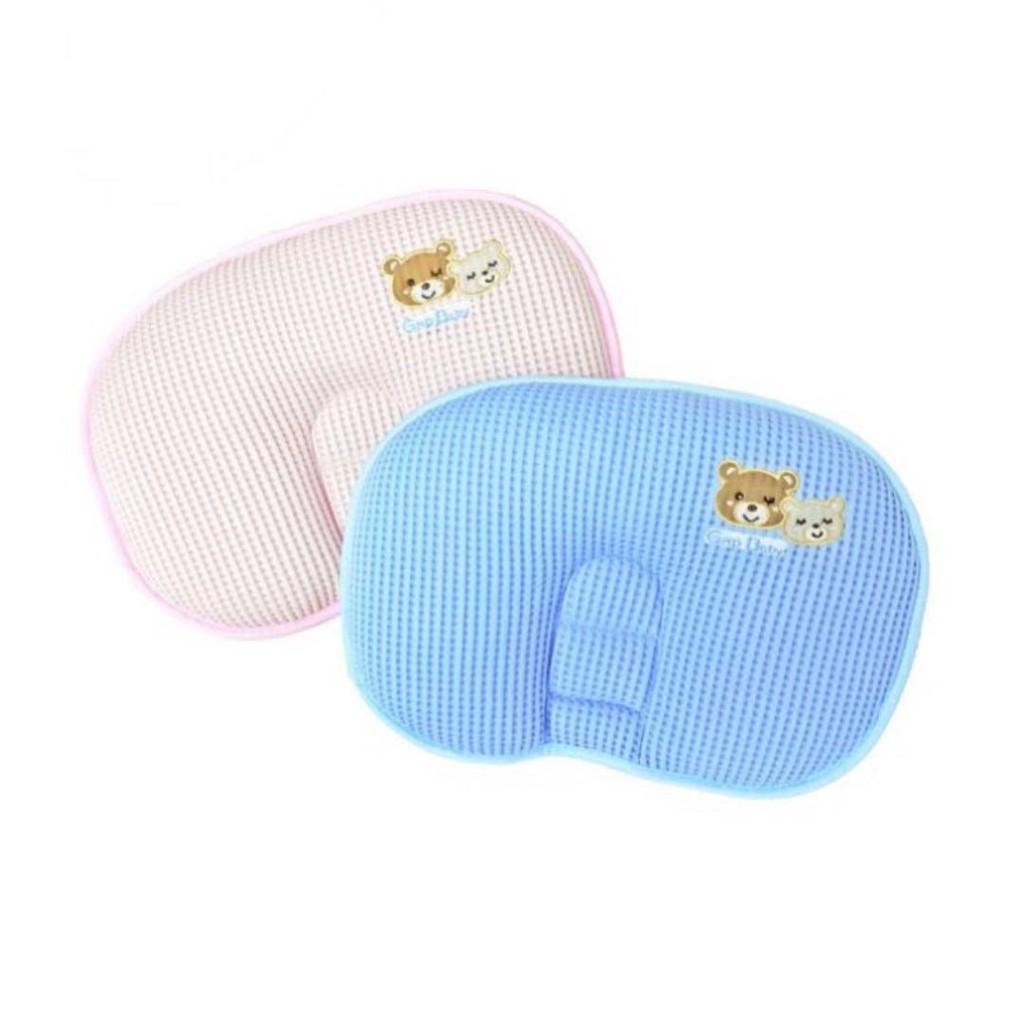 GMP BABY 枕頭 高含氧透氣護頸枕 (粉/藍)