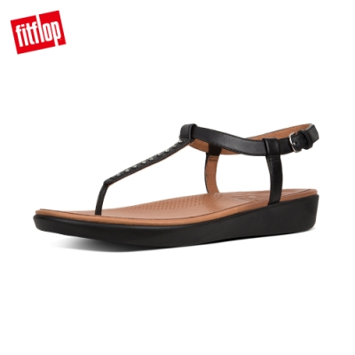 FitFlop TIA TOE-THONG SANDALS CRYSTAL 黑色