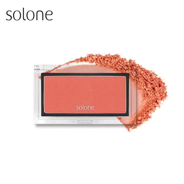 Solone 蘋果肌紅潤腮紅 2.5g #06杏桃橙橘
