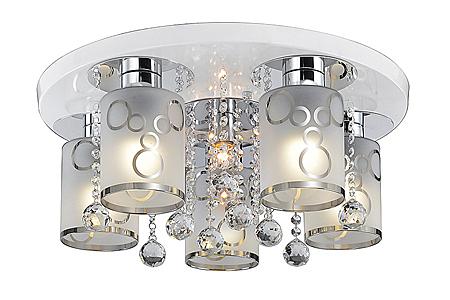 燈飾燈具【燈王的店】設計師嚴選 半吸頂5+1燈 附IC ☆ 72351