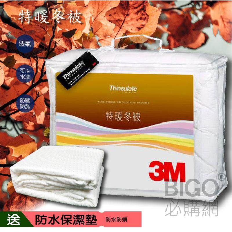 【送防水保潔墊】3M新絲舒眠特暖冬被Z500 標準雙人 送保潔墊 床墊 防螨 棉被 冬被 保暖 透氣 居家用品 可水洗