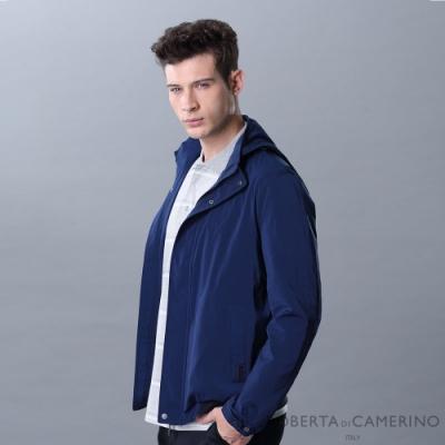 ROBERTA諾貝達 可拆帽 輕薄休閒 防風夾克外套 藍色