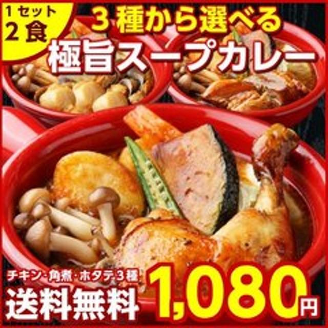 北海道極旨スープカレー2食【B】