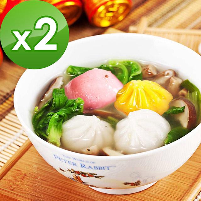 三低素食年菜 樂活e棧 吉祥如意-茹薏果任選2包(10顆/包)-奶素