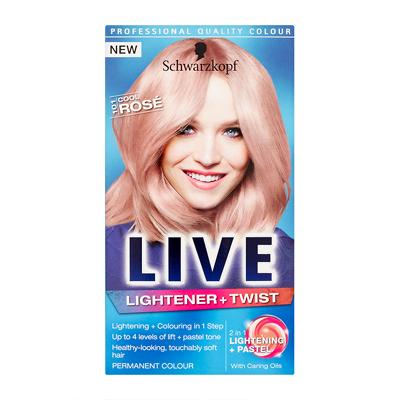 Schwarzkopf LIVE Colour Lightener + Twist