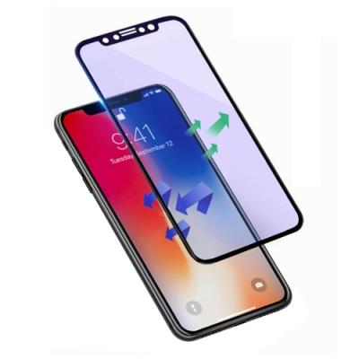 iPhone XS Max 滿版 軟邊 藍紫光 手機 保護貼 (iPhoneXSMax保護貼 iPhoneXSMax鋼化膜 )