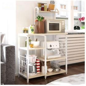キッチン収納棚 収納 棚 ラック メタルラック キャスター キッチン用品収納棚 おしゃれ 収納棚 洗濯機収納棚 キッチンカウンター上の収納棚 食器