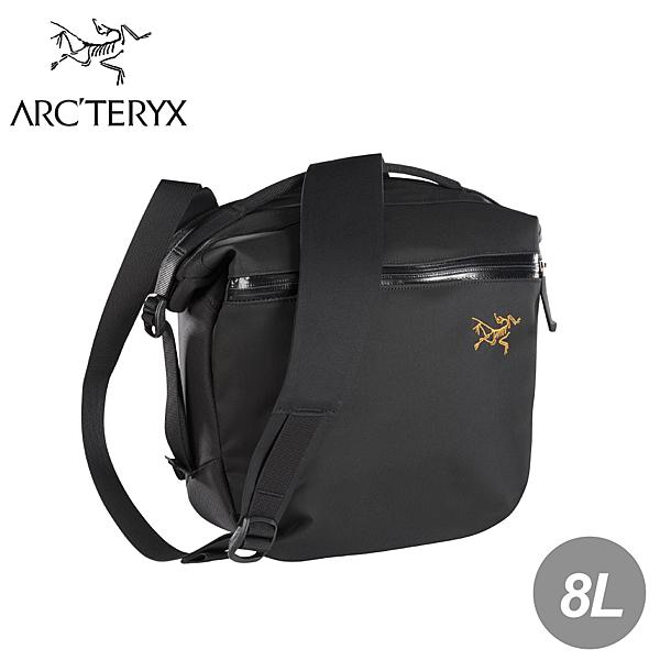 【ARC TERYX 始祖鳥 Arro 8L多功能斜背包《黑》】24019/斜背包/單肩背包