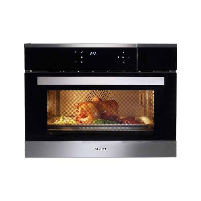 SAKURA櫻花牌  嵌入式蒸烤箱   E8692
