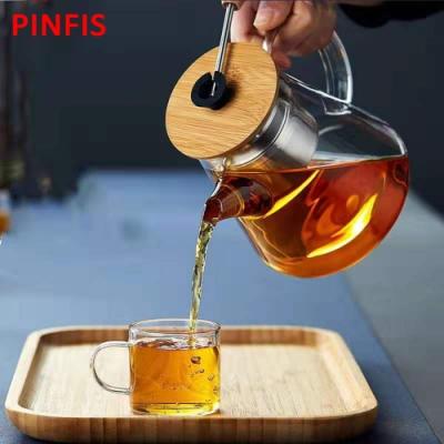 品菲特PINFIS耐熱玻璃泡茶壺 冷水壺(TP-201)