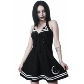 キルスター Killstar レディース ワンピース サンドレス ワンピース・ドレス - Yuzuki Sun Black - Dress black