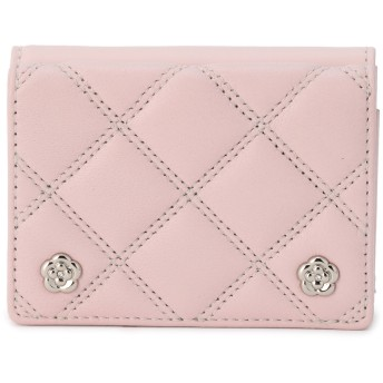CLATHAS CLATHAS クレイサス クラシック 三つ折り財布 財布,ピンク