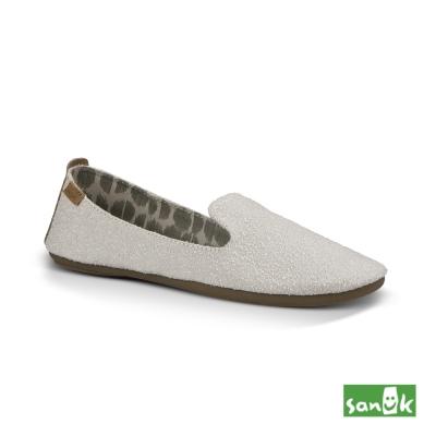 SANUK 舒適帆布平底鞋-女款(自然色)1015630 NAT