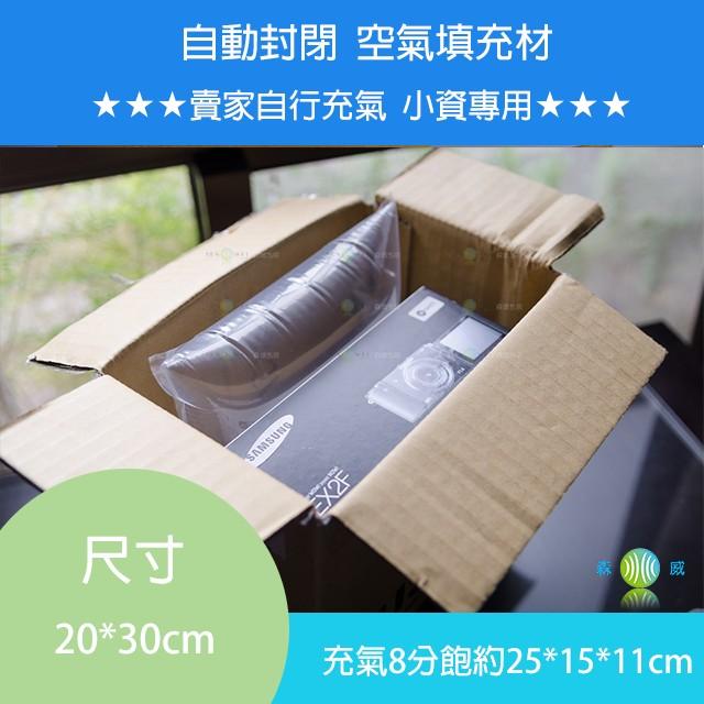 緩衝大師【20cm*30cm】 手動充氣袋 充氣填充袋 填充材