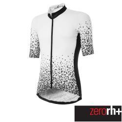 ZeroRH+ 義大利慧星系列男仕專業自行車衣(白色) ECU0628_36P