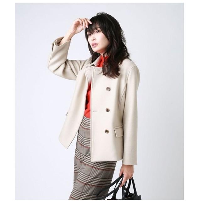 【ニューヨーカー】Piii コート/ウールショートPコート