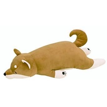 りぶはあと プレミアムねむねむアニマルズ 抱きまくらBIGサイズ2017 柴犬のコタロウ (100x40x23cm) 28979-44