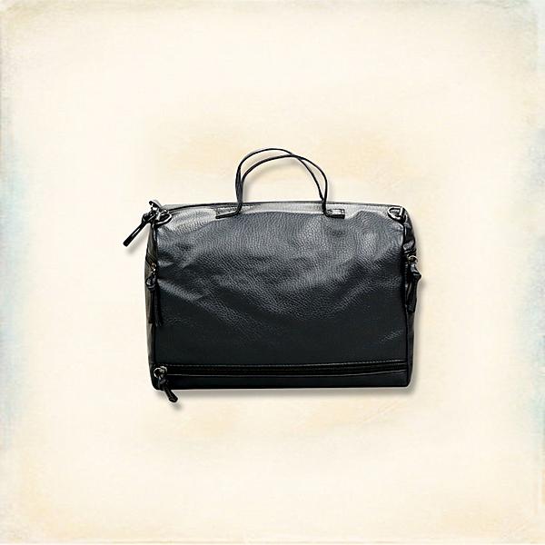 Melek 後背包 (共1色) 現貨【A01170501-04-F】女側背包下拉鍊款黑 皮質/韓風/兩用包