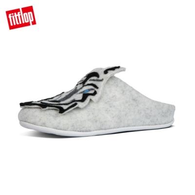 FitFlop WOLF SLIPPERS 便鞋 淺灰色