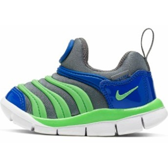 ナイキ ダイナモフリー NIKE DYNAMO FREE TD 343938-021 キッズ ベビー スニーカー スリッポン ブルー グリーン 子供靴 靴