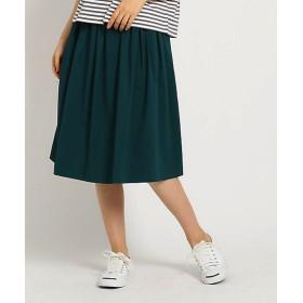 <Dessin/デッサン> レーヨンダンパー ギャザースカート(2001472932) グリーン【三越・伊勢丹/公式】