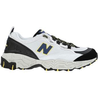 《セール開催中》NEW BALANCE メンズ スニーカー&テニスシューズ(ローカット) ライトグレー 7 革 / 紡績繊維 801