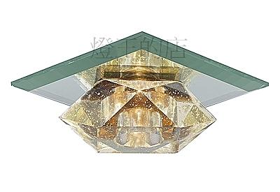 燈飾燈具【燈王的店】LED 水晶吸頂單燈 (附LED G4 3W 燈泡) 423A/110
