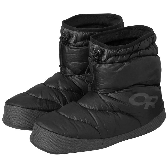 OUTDOOR RESEARCH 保暖靴 OR TUNDRA AEROGEL BOOTIES 黑 271499-0001