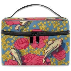 恋 花 化粧ポーチ 化粧品バッグ 化粧品収納バッグ 収納バッグ 防水ウォッシュバッグ ポータブル 持ち運び便利 大容量 軽量 ユニセックス 旅行する
