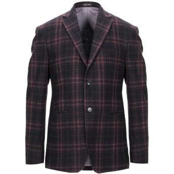 《セール開催中》BRIAN DALES メンズ テーラードジャケット ディープパープル 52 ウール 100%