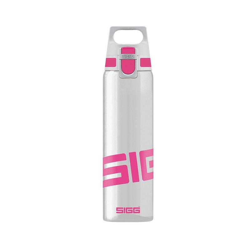 瑞士百年SIGG全清透Tritan水瓶/輕量水瓶/水壺 750ml - 桃紅