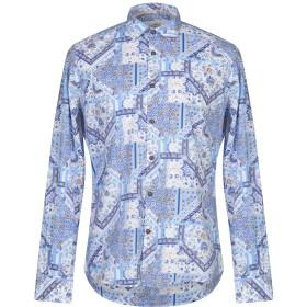 《セール開催中》ALESSANDRO LAMURA メンズ シャツ ブルー S コットン 100%