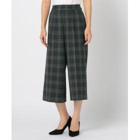 【70%OFF】 ミューズ リファインド クローズ ウォームセットアップワイドパンツ レディース グレン L 【MEW'S REFINED CLOTHES】 【セール開催中】