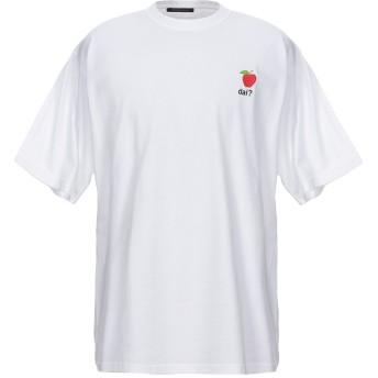 《セール開催中》HAPPINESS メンズ T シャツ ホワイト L コットン 100%