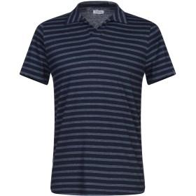 《セール開催中》DISTRETTO 12 メンズ ポロシャツ ダークブルー M コットン 100%