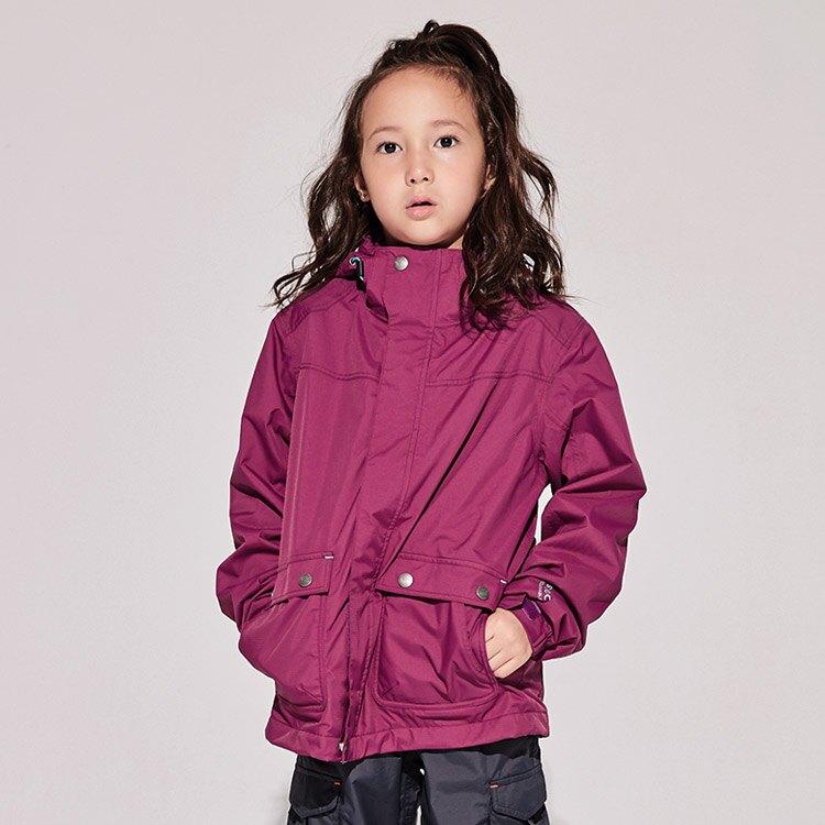 ADISI 兒童 單件式防水透氣保暖外套 AJ1921016