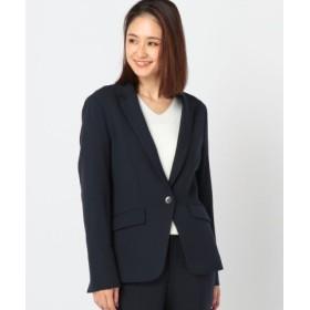 (MEW'S REFINED CLOTHES/ミューズ リファインド クローズ)ウォームセットアップテーラードジャケット/レディース ネイビー