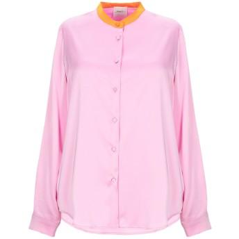 《セール開催中》,MERCI レディース シャツ ピンク XS ポリエステル 94% / ポリウレタン 6%