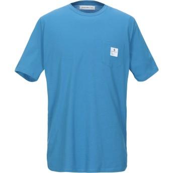 《セール開催中》DEPARTMENT 5 メンズ T シャツ アジュールブルー M コットン 100%