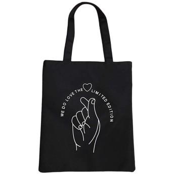 女性ハンドバッグ布キャンバストートバッグパターンショッピング旅行女性再利用可能なショルダーショッパーバッグNew、B