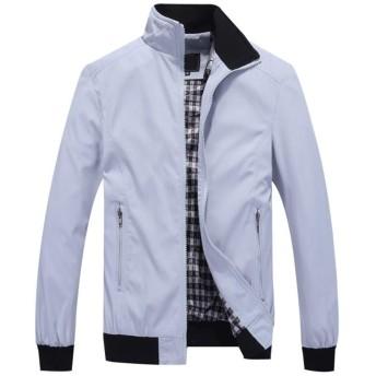 [FOMANSH]メンズ ジャケット 長袖 メンズ ライダース スタンドカラージャケット ブルゾン M-7XL