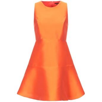 《セール開催中》TARA JARMON レディース ミニワンピース&ドレス オレンジ 38 ポリエーテル 85% / シルク 15%