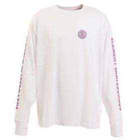 【Super Sports XEBIO & mall店:トップス】CHROME ビッグ長袖Tシャツ AJ022061 WHT