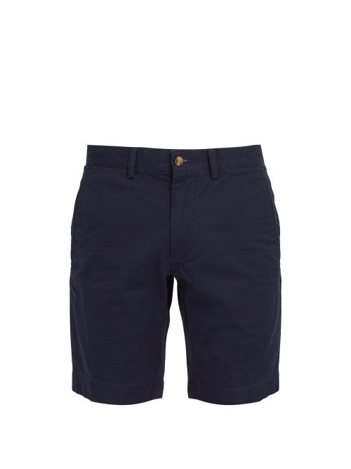 Polo Ralph Lauren - Cotton-blend Chino Shorts - Mens - Navy